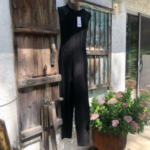 french connection jumpsuit black